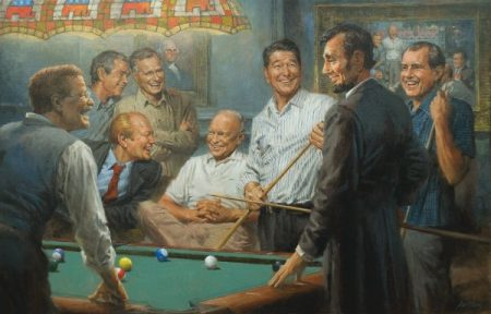 presidents-playing-pool-republicans-art