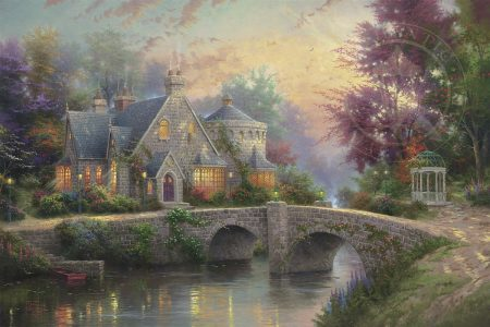 art-mansion Thomas Kinkade