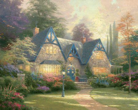 Winsor Manor by Thomas Kinkade