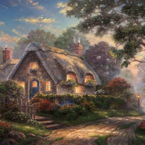 thomas-kinkade-cottage-art