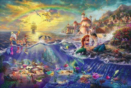 thomas-kinkade disney-under-the-sea