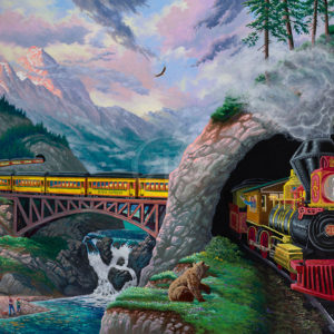 train-art